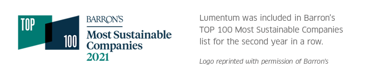 Barron's Top 100 Sustainable Companies 2021